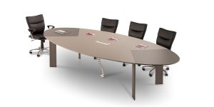 Lavan 10-Person Oval Conference Table