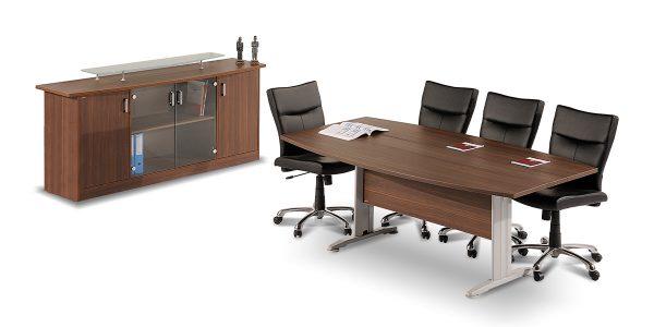 میز کنفرانس شش نفره مروارید عضوی از خانواده مدیریتی صدف است.