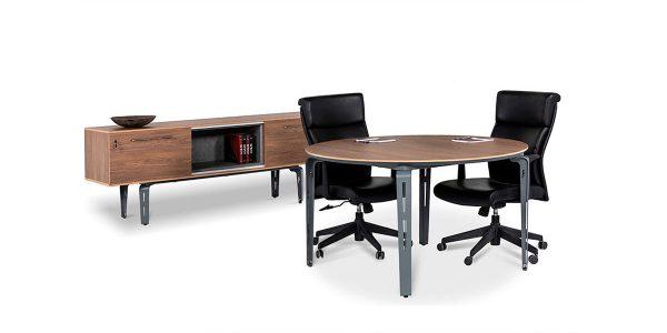 میز کنفرانس دایره کاپری