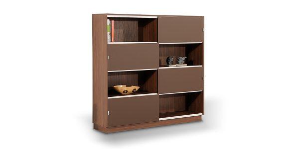 کتابخانه دربریلی البرز یکی از محصولات خانواده مدیریتی البرز، دارای فضای کافی و زیاد برای قرارگیری زونکن است.