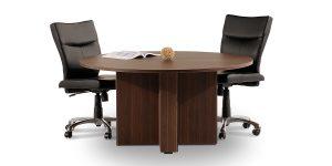 به دلیل حالت دایرهای در میز کنفرانس خورشید امکان فضای مناسب برای کاربر وجود دارد.