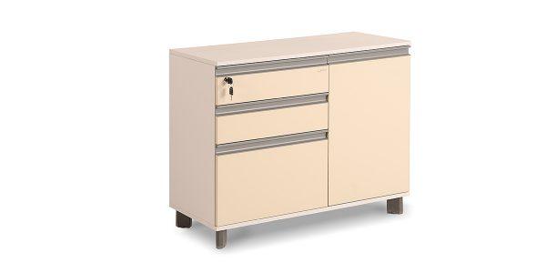 فایل کابینت سه کشو نکا، دارای فایل سه کشوبا قابلیت بایگانی پرونده میباشد. این محصول دارای فضایی مناسب جهت زونکن با ابعاد مختلف نیز میباشد.