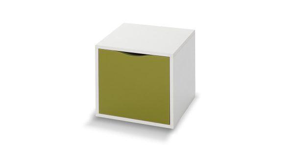 قفسه کشو دار کندوان 3 از سری باکسهای جوانه است. طراحی پانل گونه محصول باعث گردیده بر اساس سلیقه مشتری با ترکیب رنگهای مختلف این محصول چیدمان و به فضای مورد نظر زیبایی خیره کنندهای بدهد.