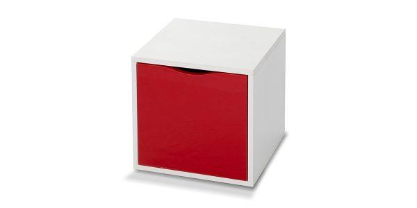 قفسه با درب کمدی از سری باکسهای جوانه است. طراحی پانل گونه محصول باعث گردیده بر اساس سلیقه مشتری با ترکیب رنگهای مختلف این محصول چیدمان و به فضای مورد نظر زیبایی خیره کننده ای بدهد.