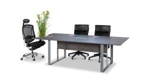میز کنفرانس دنا در دو سایز با گنجایش 4 و 6 نفره، قابل ارائه میباشد. این محصول دارای قاب عبور سیم میباشد.